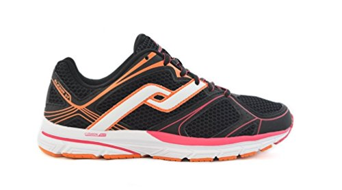 Elexir 6 Running Shoes - Womens - Black/Red/Oranage Black Zjrbp