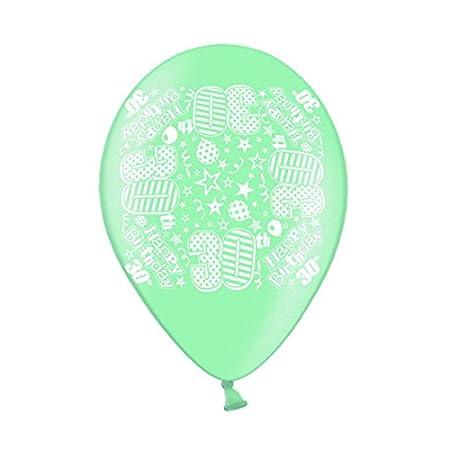 10 Simon Elvin 30th Birthday Balloons Amazoncouk Kitchen Home