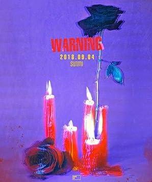 SUNMI [WARNING] Album CD+PhotoBook+BookMark+PhotoCard+Tracking Number K-POP  SEALE