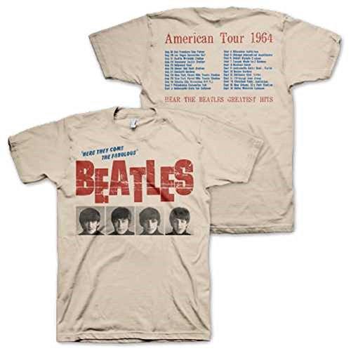 BEATLES AMERICAN TOUR 1964 T SHIRT product image