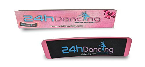 24hDancing Ballet Dance Board, Studio Equipment, Practice and Improve Steps, Spin, Form, Pirouette, Releve and Balance, Gift Professional/Student Ballerina, No Scratch on Marley Floor,Use with Spotter