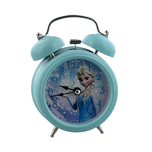 Disney Frozen Elsa Childrens Alarm Clock, Metal, Multicoloured, 90x 110mm (Digital Frozen Alarm Clock)