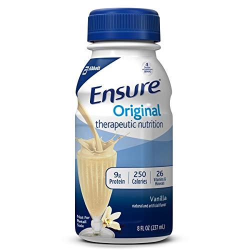 Ensure Original Vanilla Flavor 8 oz. Bottle Ready to Use, 58297 – Each