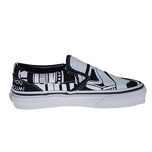 da607189ed Vans Kids Classic Star Wars Print Slip on Shoes-Storm - Import It All