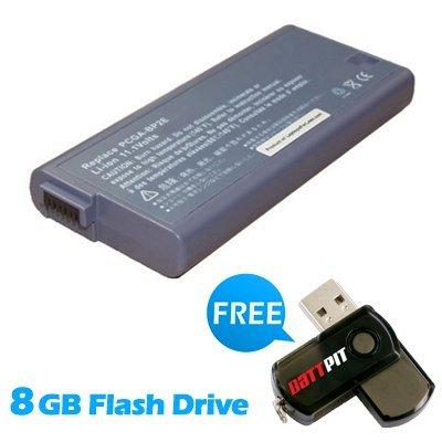 Battpit Recambio de Bateria para Ordenador Portátil Sony VAIO VGN-A290F (4400 mah) Con memoria USB de 8GB GRATUITA: Amazon.es: Electrónica