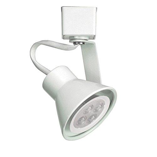 WAC Lighting JTK-103LED-WT Tk-103 Miniature Led Line Voltage Track Fixture, White