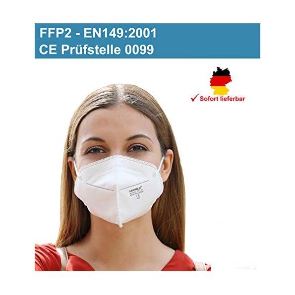 50x-Zertifizierte-FFP2-Maske-nach-EN1492001-CE-Zertifiziert-durch-bennante-Stelle-0099-Atemschutz-Mundschutz-und-TV-Rheinland-REACH-Testreport-Partikefiltermaske