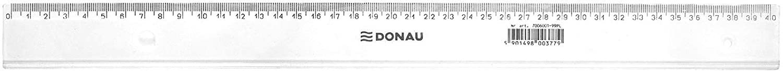 Danubio 7054001pl de 00/Regla 40/cm transparente
