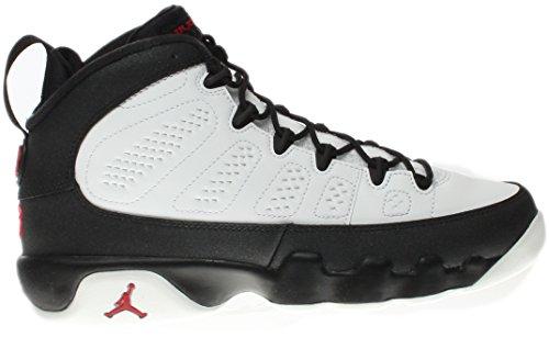 Nike Air Jordan 9 Retro BG Black & White Jungen Basketballschuhe Sneaker Schwarz/Weiß Mehrfarbig