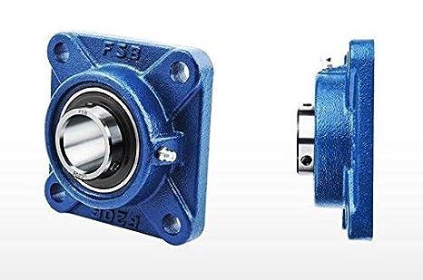 Pack 2) DOJA Industrial   2 Unidades de Rodamientos con Soporte ...