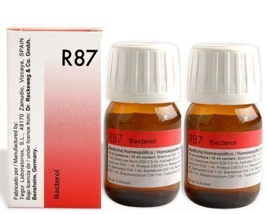 2 LOT X Dr Reckeweg Germany R87 Anti Bacterial Drops 30ML by Dr  Reckeweg