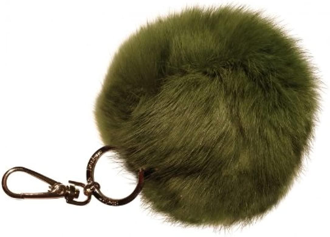 Pompon de conejo Colour verde pelo (aproximadamente 11 cm ...