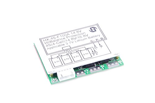 3.7V 4S 100A 12V w/ Balance Lithium Battery BMS Protection PCB Board