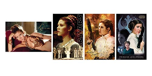 Trends International Wall Poster Star Wars Princess Leia Col