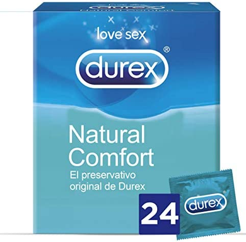 Durex Preservativos Originales Naturales Natural Comfort - 24 ...