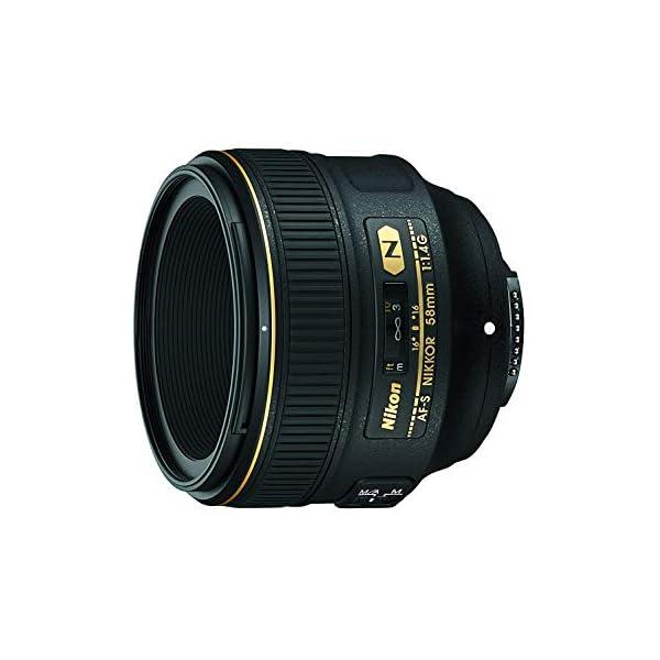 RetinaPix Nikon AF-S Nikkor 58mm F/1.4G Nano Crystal Coat Lens (Black)