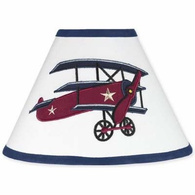 Sweet Jojo Designs Vintage Aviator Airplane Lamp Shade