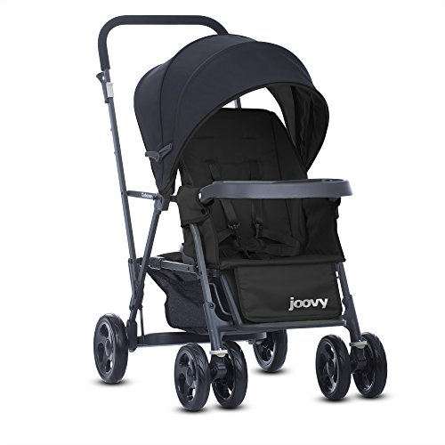 Black Caboose Too Ultralight Stand On Tandem Stroller - 3
