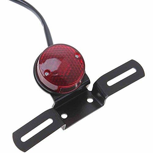 Motorrad R/ücklicht DC 12V LED Bremslicht mit Halter 01171