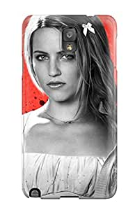 Flexible Tpu Back Case Cover For Galaxy Note 3 - Dianna Agron The Family 6922899K12246739