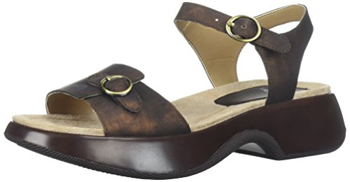 Dansko Womens Dark Lynnie Lynnie Metallic Brown rrxTFY