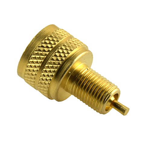 MonkeyJack External Brass Tire Valve Stem Adapter