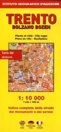 Bolzano 1:7.500. Ediz. multilingue Instituto Geografico DeAgostini