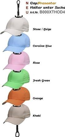 Basecap f/ür Damen 2Stoned Flexfit Glen Check Baseball Cap mit Sticklogo 2 Farben und 4 Gr/ö/ßen Herren und Kinder
