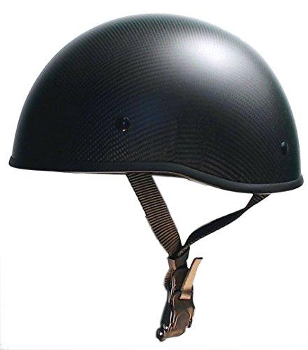 Low Profile Carbon Fiber Motorcycle Helmets - 2