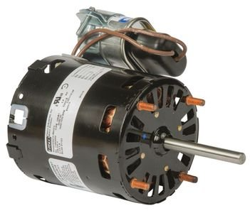 Fasco D1123 3.3'' Frame Permanent Split Capacitor Heatcraft OEM Replacement Motor with Sleeve Bearing, 1/15HP, 1550rpm, 208-230V, 50/60 Hz, 0.5amps by Fasco (Image #1)