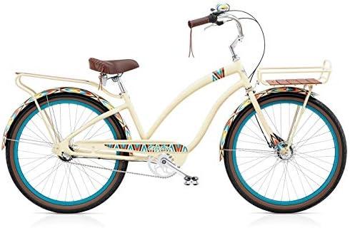 Electra Cruiser 3i Tapestry 571564 - Bicicleta de Aluminio para ...