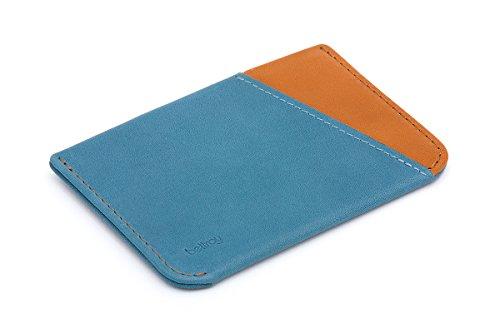Bellroy Leather Micro Sleeve Wallet Arctic Blue by Bellroy