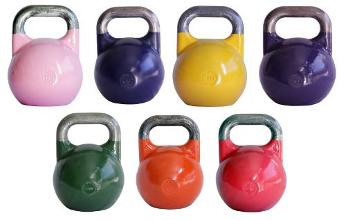 Ader Pro-Grade International Kettlebell Set- (8, 12, 16, 20, 24, 28, 32kg)