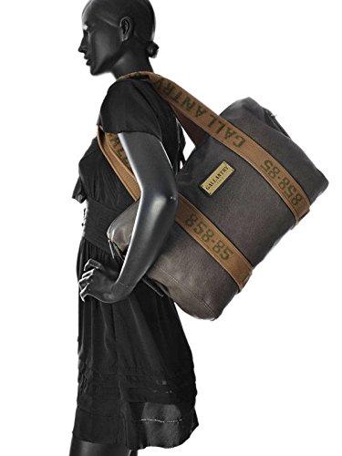 Gallantry - Bolso al hombro de Material Sintético para mujer gris