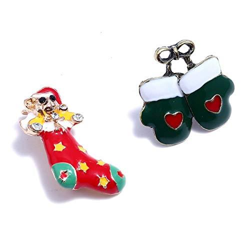 Style Weihnachten 5 Schmuck Set Housweety Urlaub Accessoires Brosche ...