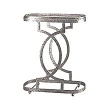 Design Toscano Art Deco Caddie Side Table, Petite