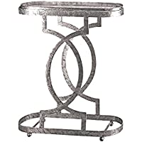 Design Toscano Art Deco Caddie Side Table, Petite