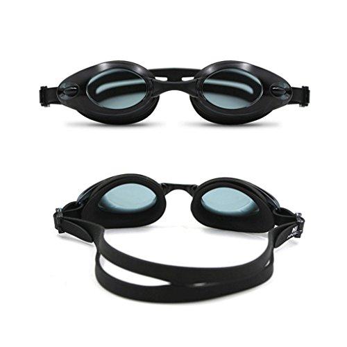 buée Grand Lunettes l'eau Black Cadre Adultes ZHJING Lunettes Dames Couleur natation imperméable HD de Blanc à Anti qWUYa8z