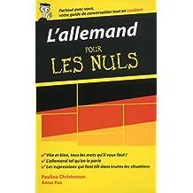 L'allemand - Guide de conversation pour les Nuls, 2ème édition (French Edition)