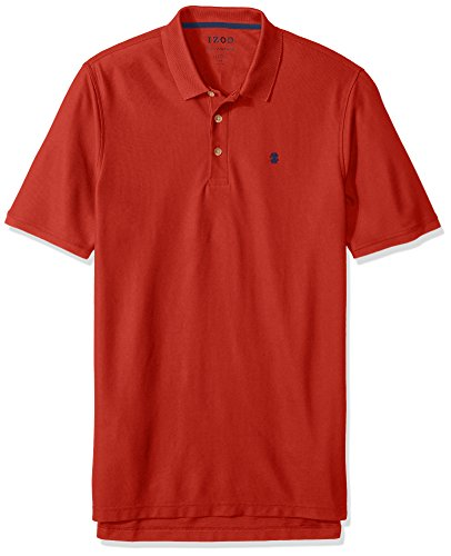 IZOD Mens Big and Tall Advantage Performance Solid Polo