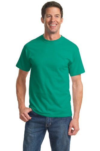 Jade Heavyweight T-shirt - Port & Company Men's Tall Essential T Shirt XLT Jade Green
