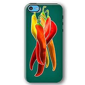 Colorful Chile Peppers iPhone 5C Armor Phone Case