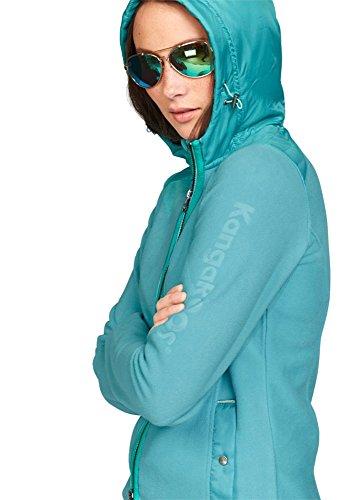 Kangaroos - Cárdigan - para mujer turquesa verde menta 42