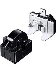 Etase QP2-4.7 PTC Starter Relay 1 Pin Refrigerator Starter Relay and 6750C-0005P Refrigerator Overload Protector
