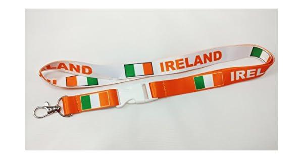 Amazon.com: Bandera de Irlanda Reversible Naranja/Blanco ...