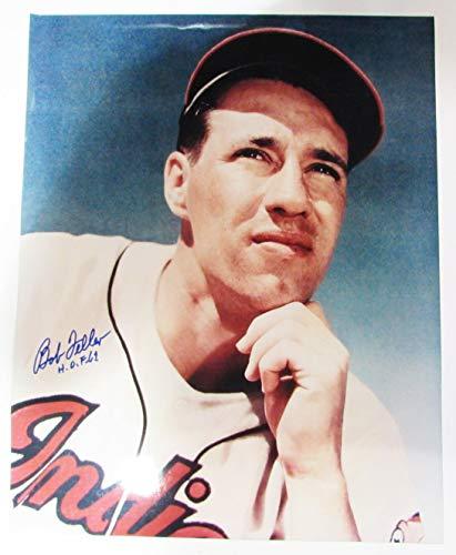 Bob Feller Signed Autographed 16x20 Photo TRISTAR Indians