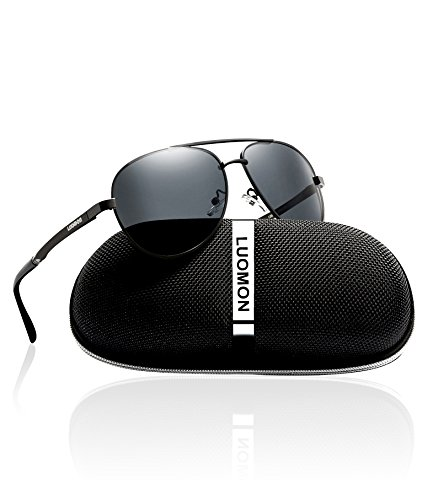 LUOMON Men's Polarized Aviator Sunglasses LM033