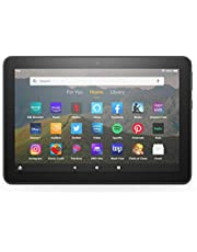 """Certified Refurbished Fire HD 8 tablet, 8"""" HD display, 32 GB, designed for portable entertainment, Black"""