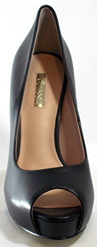 Guess 2 Tailler Toe Femmes Cm Hadie Clivage black Pl Talon Leather Chaussures 5 Open 12 Cm rxfrFqI7wY