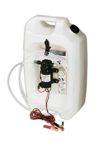 Marine Oil Change System - Jabsco 17860-0012 Marine Flat Tank Oil Changer System (3.5-Gallon, 12-Volt, 5-Amp)